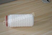 疏水性(PTFE)聚四氟乙烯折叠滤芯空气除菌,发酵罐除菌呼吸器滤芯