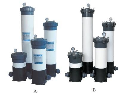 UPVC塑料袋式过滤器 化工耐腐蚀过滤器 1号 2号袋式过滤器